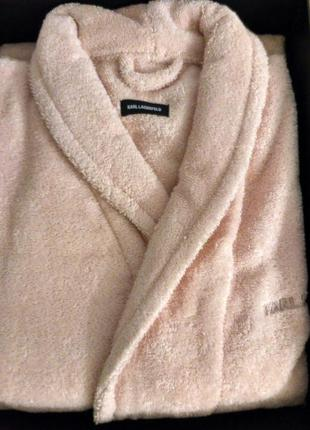 Дизайнерский махровый халат. италия
