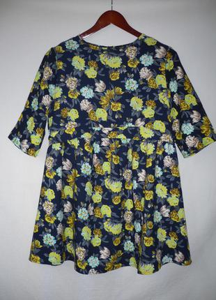 Платье, цветочный принт