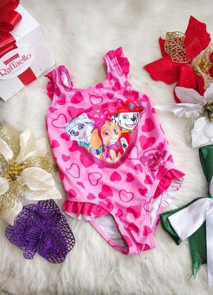 Яскравий купальник для дівчинки 1-2 рокчки george
