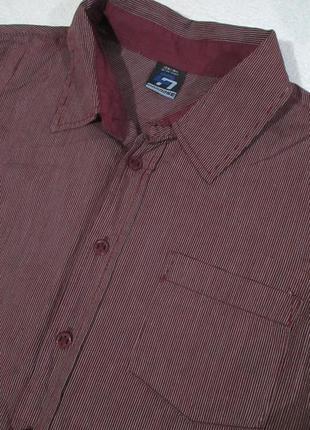 Красивая хлопковая рубашка в полоску, тсм германия, 100% хлопок