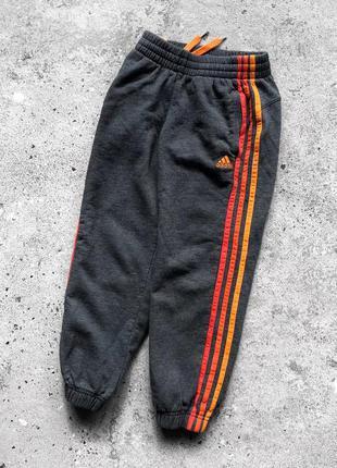 Adidas performance essentials теплі, дитячі спортивні штани