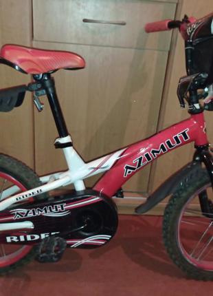 Велосипед rider azimut, колёса 16
