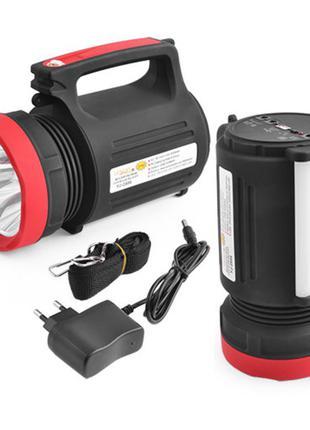 Ручной аккумуляторный фонарь с функцией powerbank