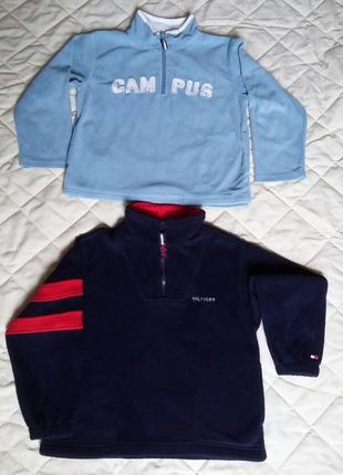 Кофта світер свитер джемпер hilfiger, campus, рост 122, 6-7лет.