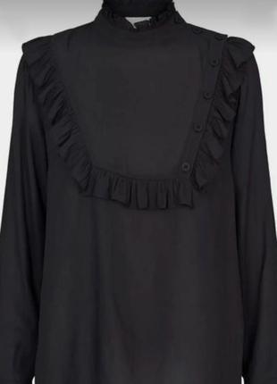 Шикарная блуза-косоворотка в викторианском стиле second female