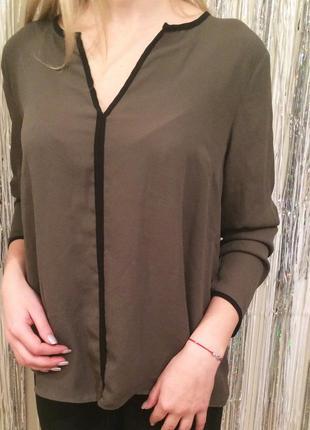 Блуза кольору хакі atmosphere