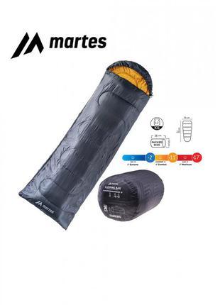 Спальний мішок martes ourens 220 x 75 см чорний з жовтим mts-ourens-mgnb