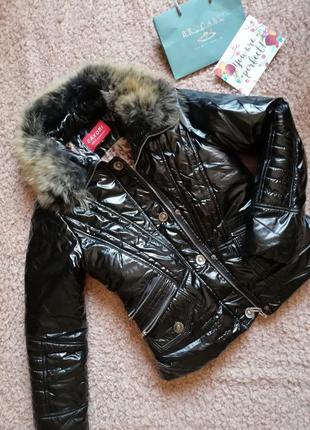 Крутая курточка с мехом