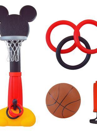Баскетбольный набор eods-l1801 (1 шт) mickey mouse в коробке 54*27*65 см
