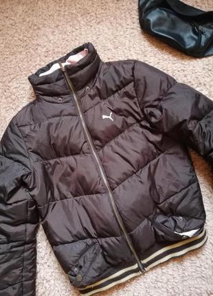 Теплая курточка puma