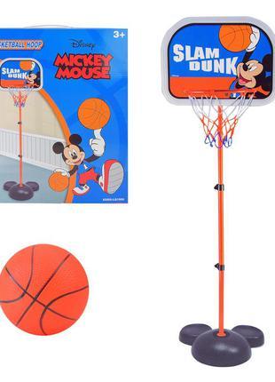 Баскетбольный набор eods-lq1906 (12 шт) mickey mouse в коробке 63*36*36 см