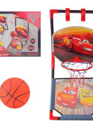 Баскетбольный набор eods-39881a (18 шт) cars в коробке 38*4,5*44 см