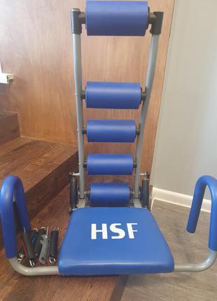 Тренажер спортивний hsf для м'язів живота