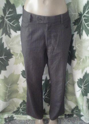 Next брюки штаны брючки в полоску стрелами классика класические