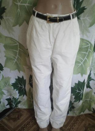 Baltrik австрия оригинал спортивные штаны брюки на подкладе  белые белоснежные