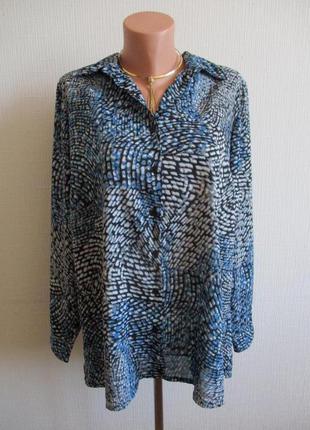 Sale - 50%! блуза в принт essential