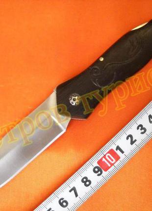 Складной нож fb619a дерево полуавтомат