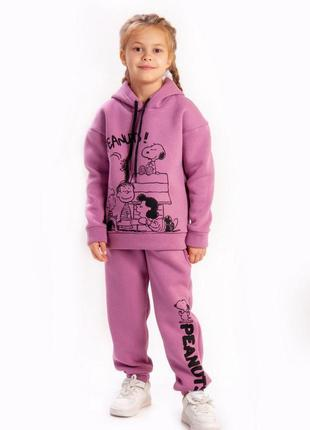 Детский тёплый костюм на флисе