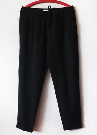 Шерстяые  теплые брюки на резинке lanius германия органическая шерсть