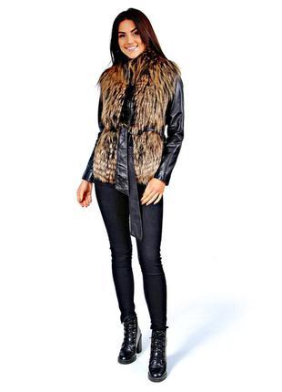 Меховая жилетка, меховая куртка