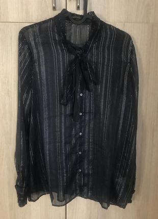 Блуза рубашка maison scotch