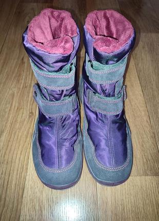 Зимние ботинки сапоги primigi на девочку