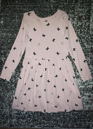 Платье с длинным рукавом на девочку
