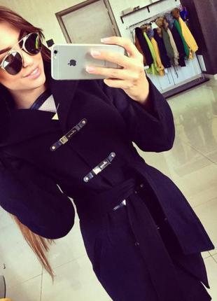 """Женское модное кашемировое пальто """"кобра"""""""