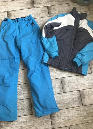 Лыжный костюм, crane штаны и куртка для лыж, сноуборда, размер m