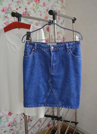 Стильна джинсова спідничка