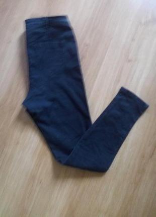 Стильные скини джинсы с высокой посадкой