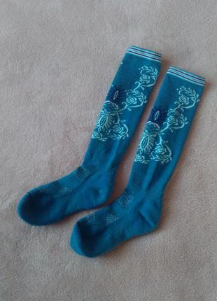 Smartwool термогольфи з мериносової вовни термо шкарпетки високі лижні носки шерстяные шерсть мериноса