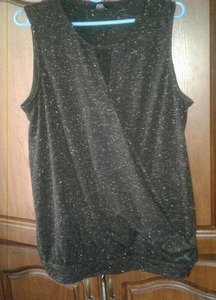 Блуза с люрексом