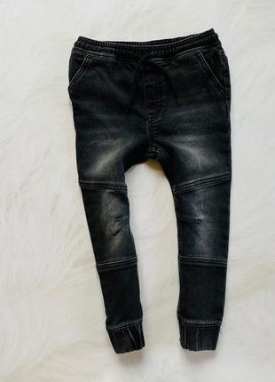 Lupilu стильные  трикотажные джинсы  на мальчика 5 лет
