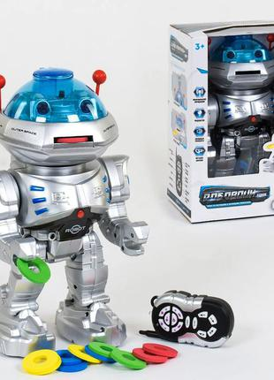 Робот стреляет дисками 9894