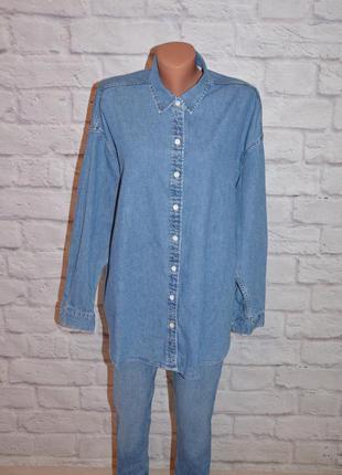 """Рубашка джинсовая свободного кроя """"levi's"""""""