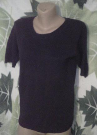 Casual woman 100% хлопок хлопковый вязаная свитер кофта джампер.