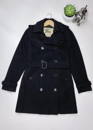 Шикарное женское пальто кашемировое burberry оригинал