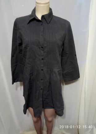 Платье рубашка в полоску от atmosphere