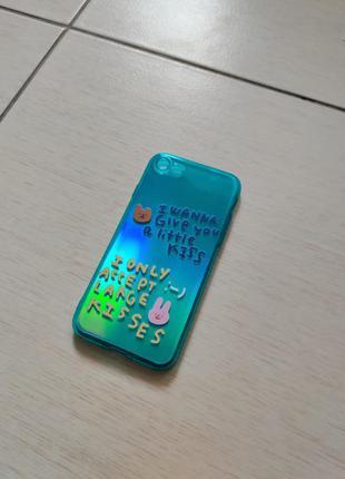 Чехол силиконовый для iphone 7,8,se 2,xr,