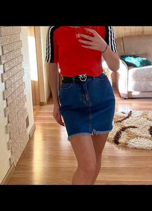 Спідниця , джинсова спідниця
