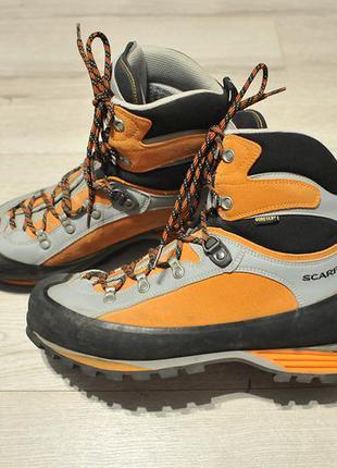 Трекінгові черевики ботинки туристические scarpa gore tex boots - 43