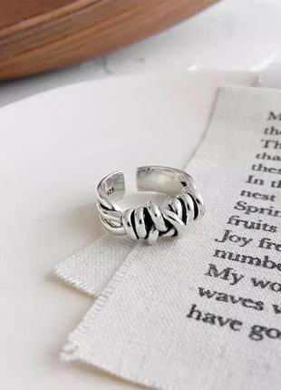 Массивное оригинальное кольцо серебро 925 / большая распродажа!