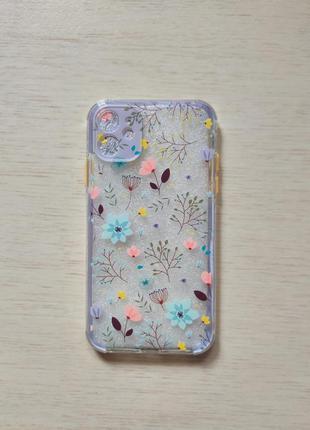 Чехол силиконовый для iphone 7,8,se 2,11