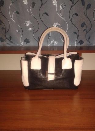 Кожаная сумка vera pelle/италия