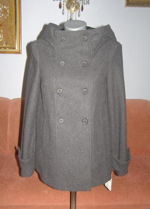 Шерстяне пальто zara оригінал розмір s італія