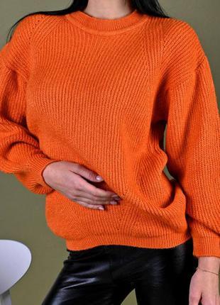 Кофта светр колір помаранчевий
