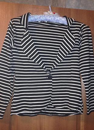 Стильный пиджак жакет в полоску  joules mollie р.m-l 10-12