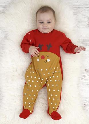 Новогодний комбинезон для малышей