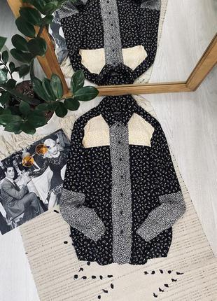 Блуза з натуральної тканини від topshop🌿